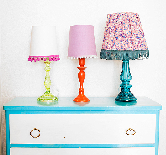 DIY From Candle Holder To Table Lamp