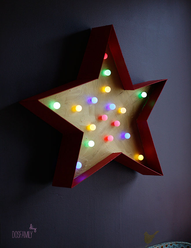 marquee star light diy isabelle mcallister