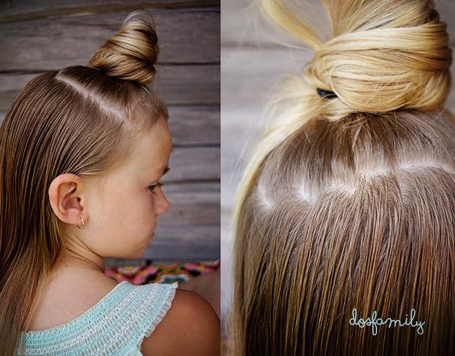 Terrific Rosettflaeta Steg Foer Steg Bow Braid Step By Step Tutorial Dos Short Hairstyles Gunalazisus