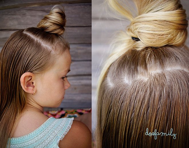 Remarkable Rosettflaeta Steg Foer Steg Bow Braid Step By Step Tutorial Dos Hairstyles For Women Draintrainus