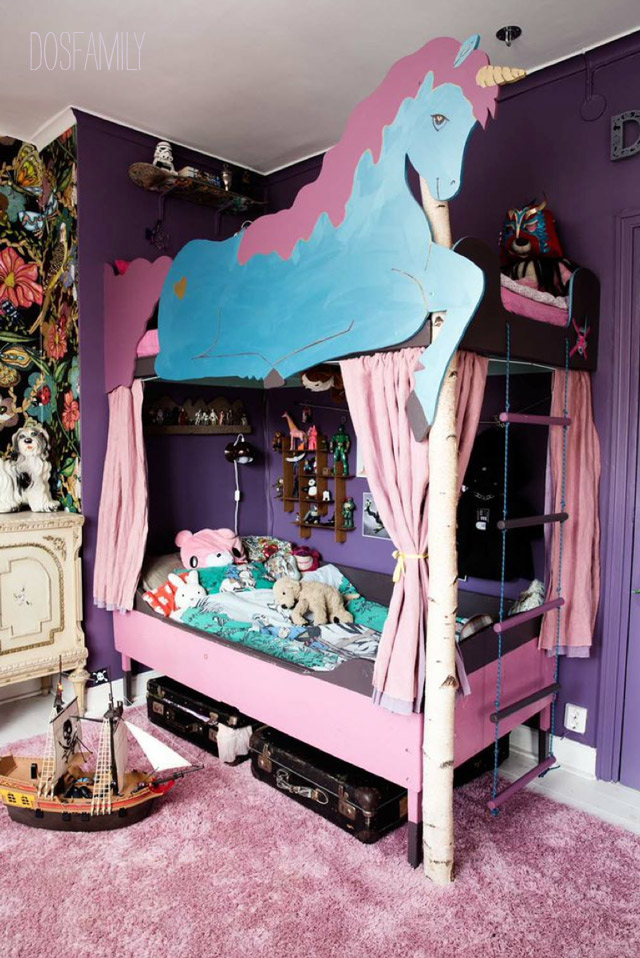 The Unicorn Bunkbed Needs A New Home