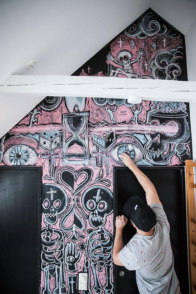 dosfamily-chalkboard-art