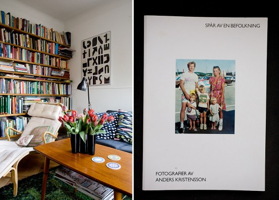 Livingroom, and the book by Anders Kristensson that I was telling you about..